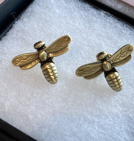 French Kande  Bee Stud Earrings