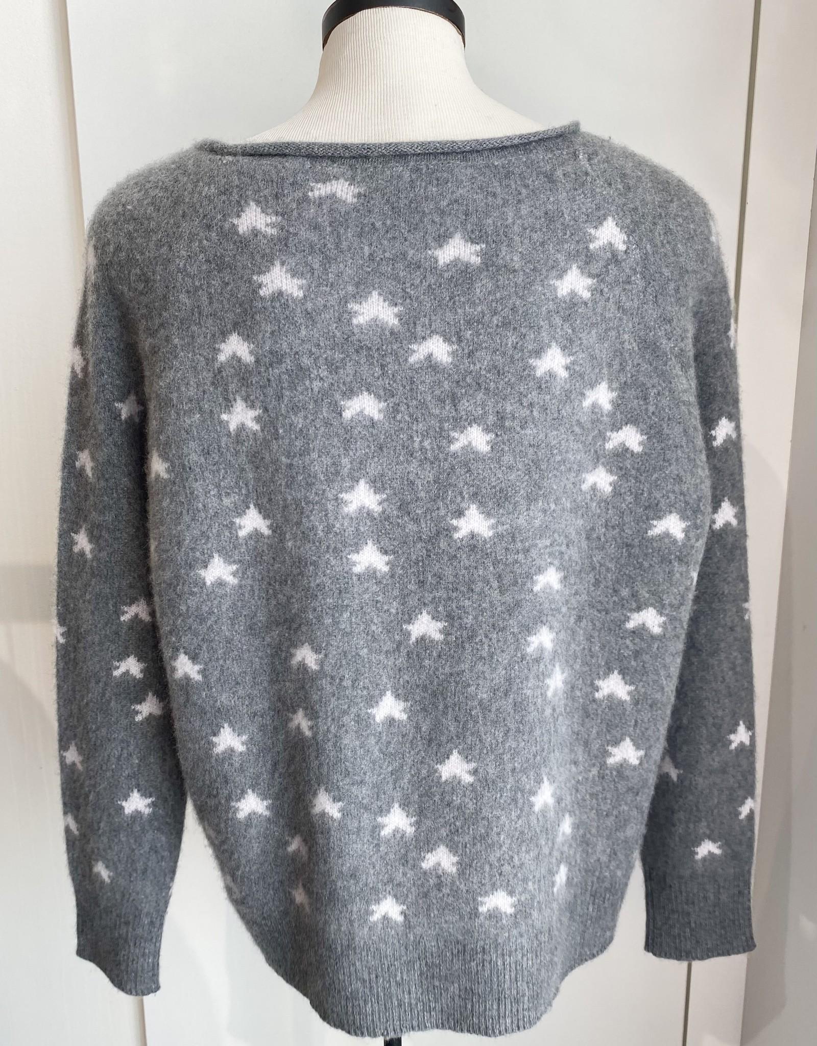 360 Cashmere  ELISE Stars Sweater