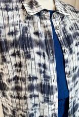 Que QUE   Tie Dye Long Shirt