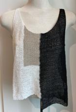 Crea Concept Crea Black & White Top