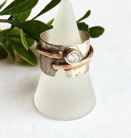 Karyn Chopik Currents Ring - Size 9