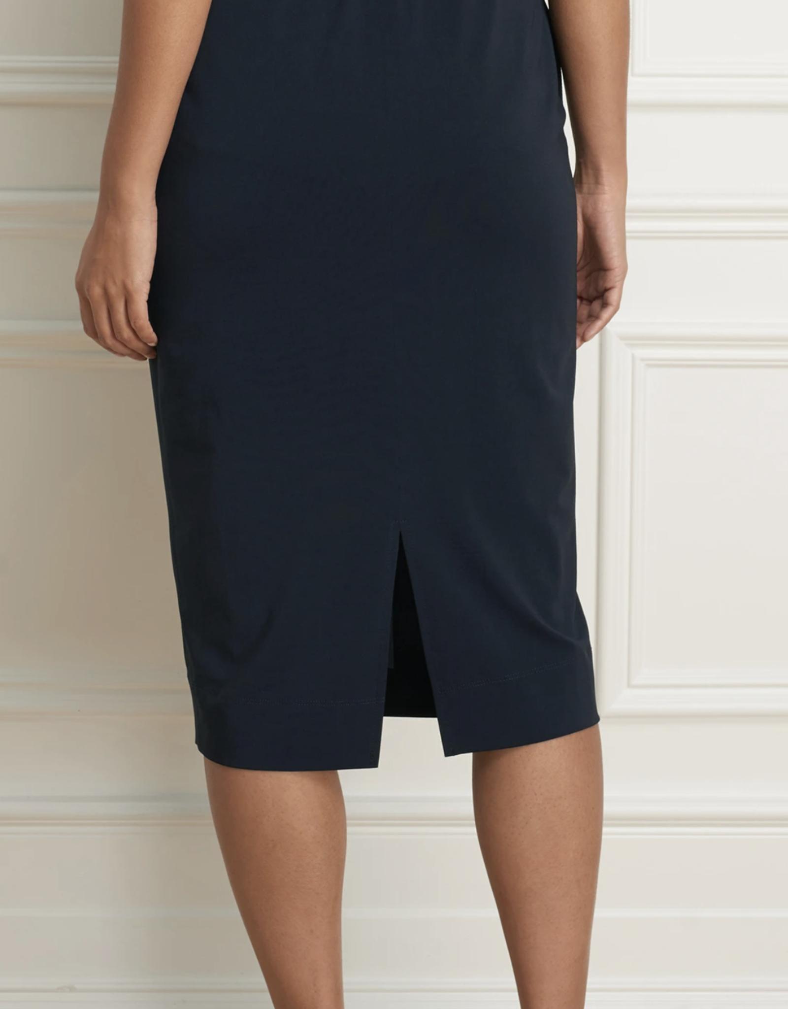Iris  Matte Jersey Pencil Skirt