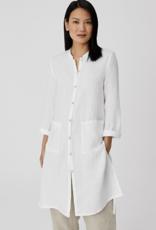 Eileen Fisher EF  Long Linen Shirt