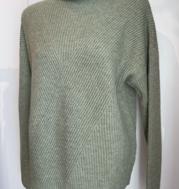 Repeat Repeat Cashmere Mockneck Sweater