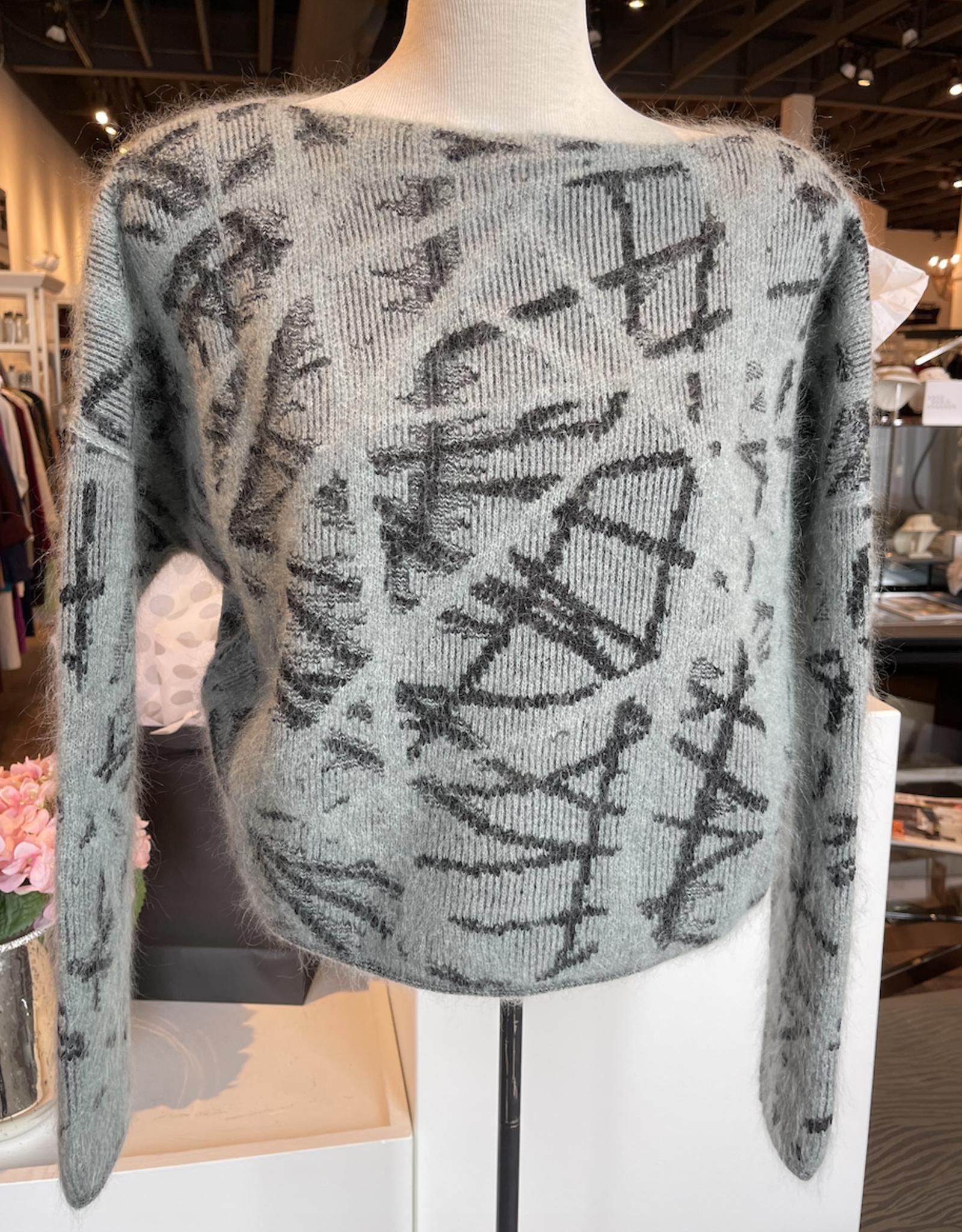 Sarah Pacini Sarah Pacini Grey Sweater