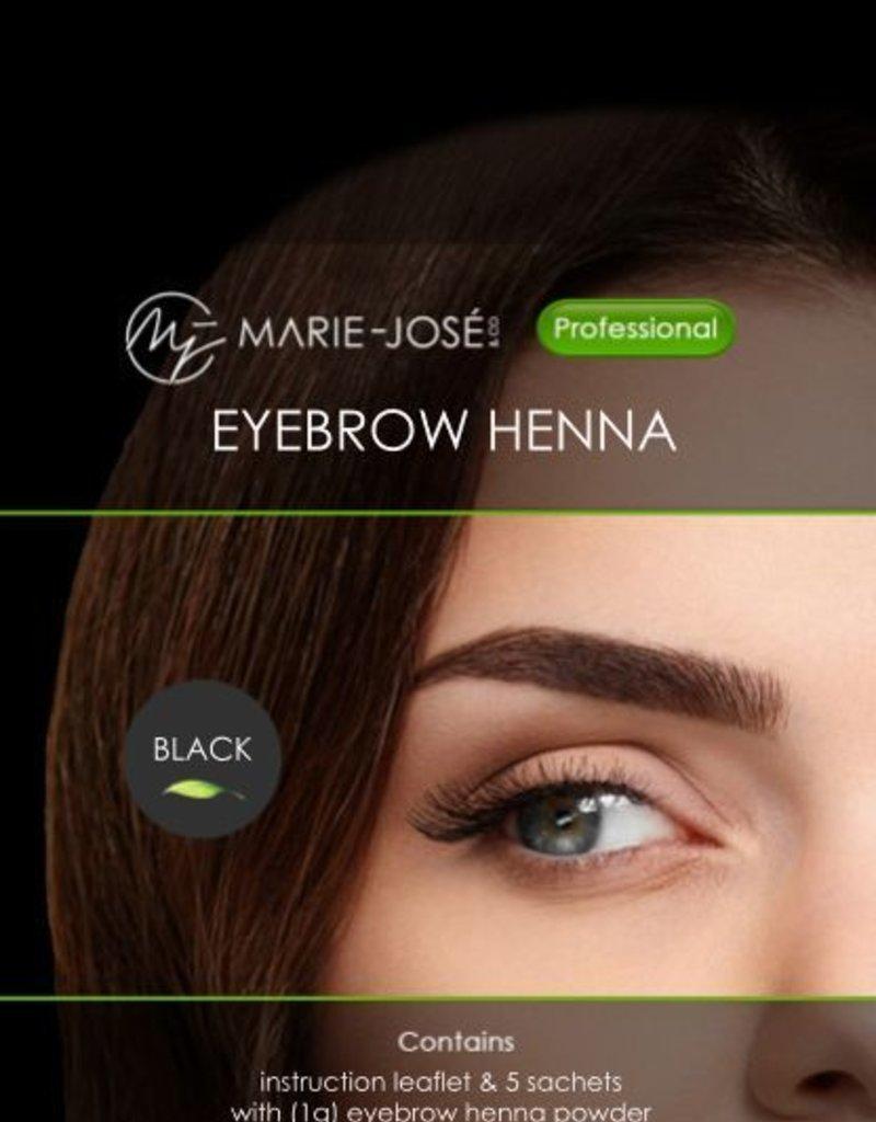Henna Eyebrows Tint Black Henna Brows 15 Applications Marie