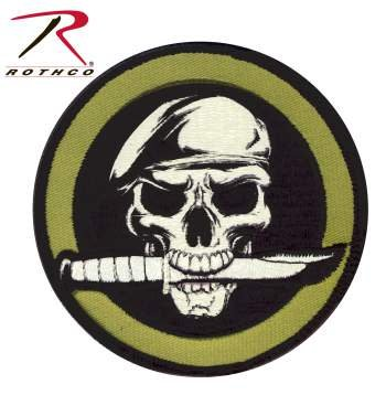 Military Skull & Knife Morale Patch