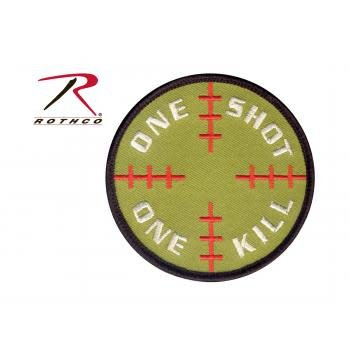 Rothco One Shot One Kill Morale Patch