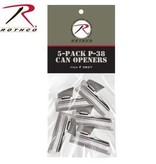 Rothco G.I. Type 5-pack P38 Can Openers
