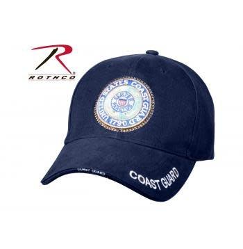 Rothco  U.S. Coast Guard Deluxe Low Profile Insignia Cap