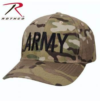 Rothco Low Profile Army MultiCam Hat