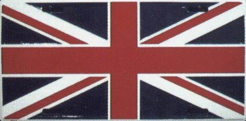 Great Britain Flag License Plate