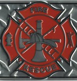 Ramsons Imports Fire Rescue License Plate