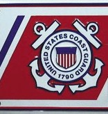 Ramsons Imports Coast Guard - Semper Paratus License Plate