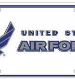 Ramsons Imports United States Air Force License Plate