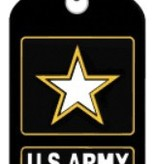 Ramsons Imports Military Branch Dog Tag Chain