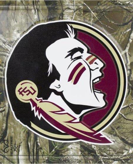 Florida State Seminoles Camo License Plate