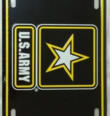 Ramsons Imports US Army W/Star License Plate