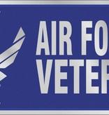 Ramsons Imports U.S. Air Force Veteran License Plate