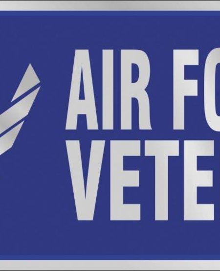 U.S. Air Force Veteran License Plate