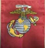 Ramsons Imports US Marine 13 x 18 Garden Banner - 2 Sided Printed