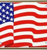 Mitchell Proffitt American Flag License Plate
