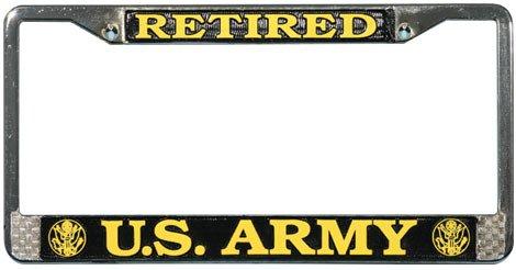 Mitchell Proffitt Retired U.S. Army License Plate Frame