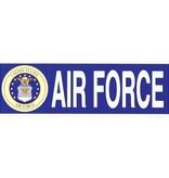 Mitchell Proffitt Air Force with Crest Bumper Sticker