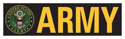 Mitchell Proffitt Army with Army Crest Bumper Sticker