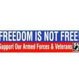 Mitchell Proffitt Freedom is Not Free POW/MIA Bumper Sticker