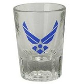 Mitchell Proffitt 2 oz. Clear Fluted Shot Glass