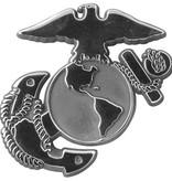 Mitchell Proffitt Silver EGA Logo Auto Chrome Emblem