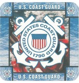 Mitchell Proffitt U.S. Coast Guard Coaster (8 pk)