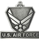 """Mitchell Proffitt U.S. Air Force Holiday Pewter Ornament 2 1/4"""""""
