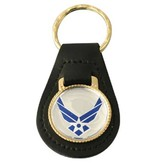 Mitchell Proffitt Air Force Leather Key Fob