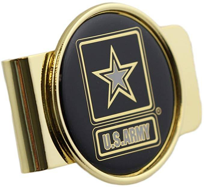 Mitchell Proffitt United States Army Symbol Money Clip