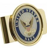 Mitchell Proffitt United States Navy Symbol Money Clip