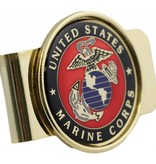 Mitchell Proffitt United States Marines Symbol Money Clip
