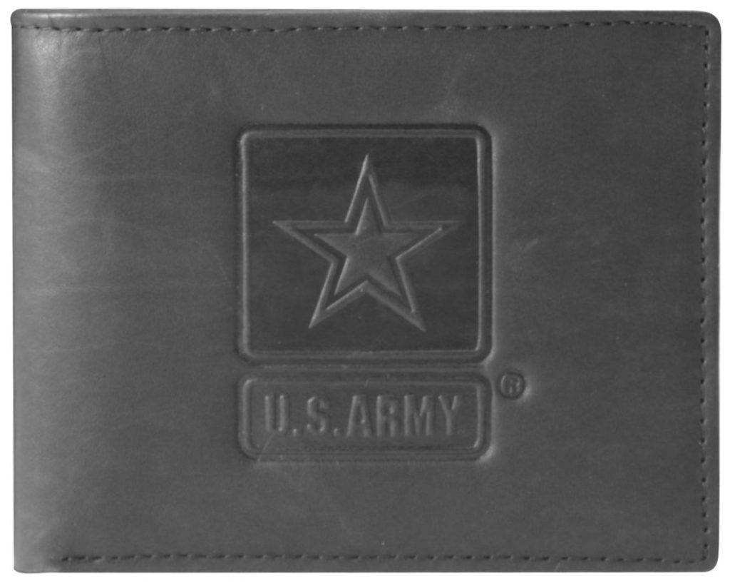 Mitchell Proffitt U.S. Army Embossed 100% Genuine Leather Wallet