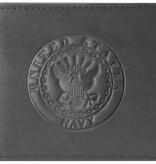 Mitchell Proffitt U.S. Navy Embossed 100% Genuine Leather Wallet