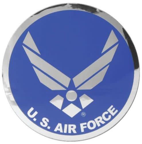 "Mitchell Proffitt US. Air Force Symbol 3"" Round Reflective Sticker"