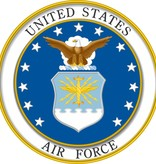 Mitchell Proffitt US. Air Force with Logo Decal