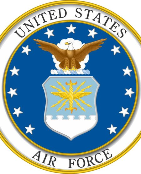 US. Air Force with Logo Decal