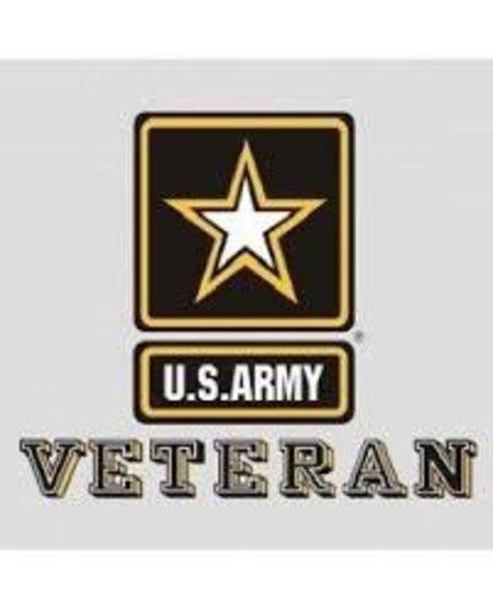 U.S. Army Veteran w/Star Window Sticker