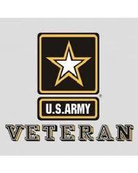 Mitchell Proffitt U.S. Army Veteran w/Star Window Sticker