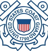 Mitchell Proffitt U.S. Coast Guard Crest Window Sticker