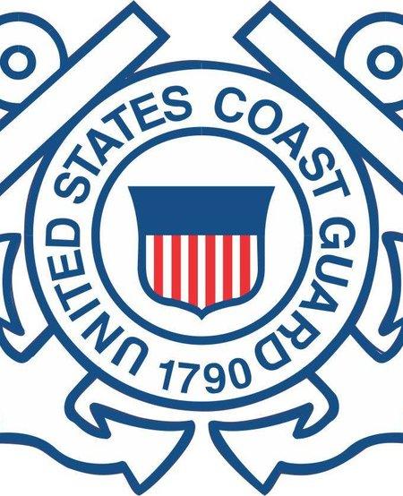 U.S. Coast Guard Crest Window Sticker