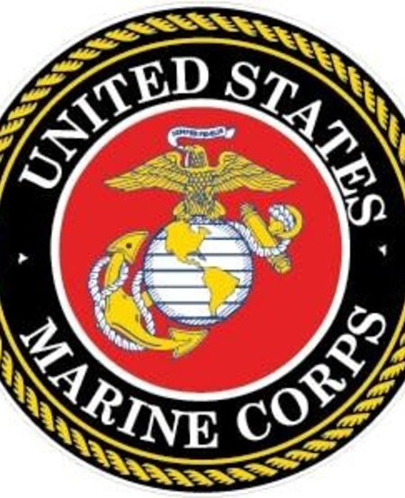 U.S. Marines Crest Window Decal