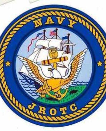 Navy JROTC Round Decal