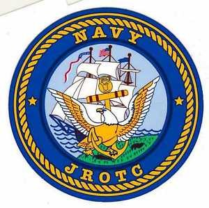 Mitchell Proffitt Navy JROTC Round Decal